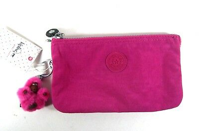 2e14ae1d33 KIPLING Ladies Creativity L Medium Pouch/ Purse Very Berry AC8054 New NWT
