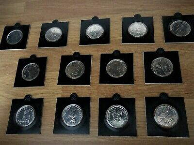 Various Beatrix Potter 50p Fifty Pence Coins - 2016, 2017& 2018