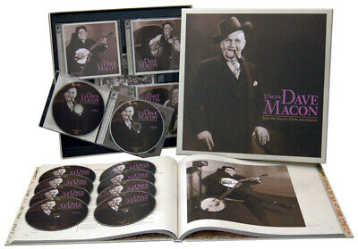 Uncle Dave Macon - Keep My Skillet... (9CD & 1DVD mit 176-seitigem gebundenem...