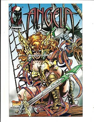 ANGELA SPECIAL EDITION (Image Comics, BRAD GORBY PIRATE COVER, JUN 1995), NM