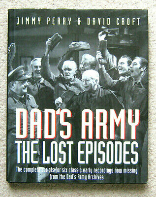 """Dads Army """"The Lost Episodes"""" Hardback Book (Excellent)"""