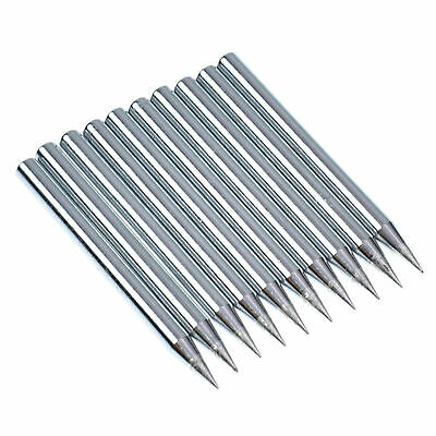 10pcs 60w Pencil Solder Iron Tip Lead Free Copper For Replacement Soldering