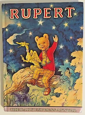 Rupert The Bear Annual, Daily Express, 1979, Excellent Condition, Unclipped