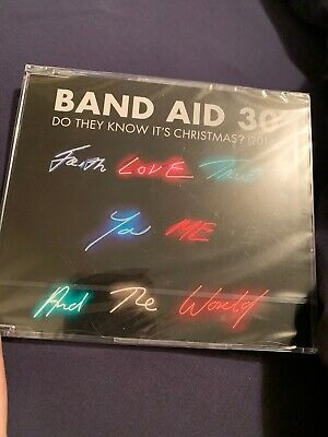 BAND AID 30 Do They Know It's Christmas? (2014) 4-track CD single NEW/SEALED