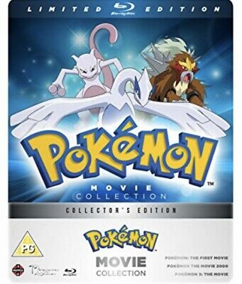 Pokémon Movie Collection - Limited Edition Blu-ray Steelbook
