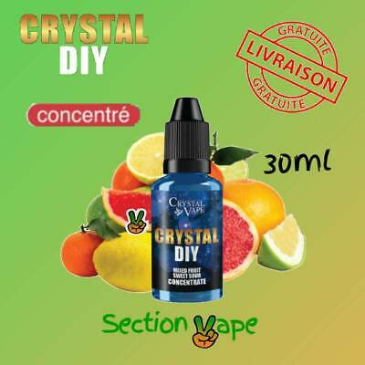 E liquide arôme crystal DIY Mixed fruits Sweet , Saveur tutti frutti  30ml
