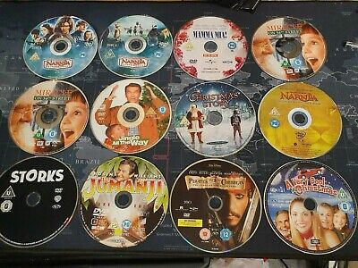 Unboxed Bundle Of 23 Assorted DVD Movies