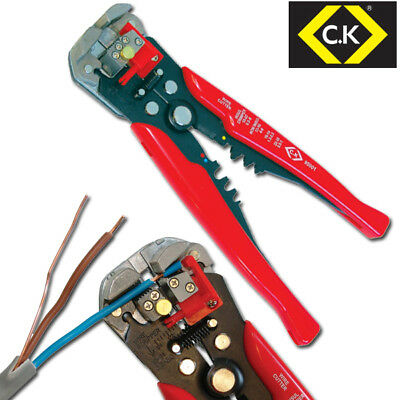 CK Adjustable Automatic Wire/Cable Cutter/Stripper,Crimping/Crimper Plier 495001