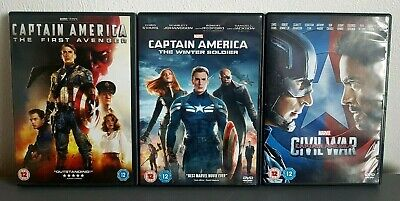 Captain America 1-3 DVD Collection - first avenger, winter soldier, civil war