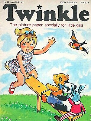 TWINKLE - 23rd AUGUST 1969 (21 - 27 Aug) RARE 50th BIRTHDAY GIFT !! FINE...mandy