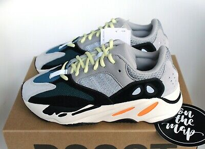 22114a8d ADIDAS YEEZY BOOST 700 Wave Runner OG Grey Orange Black UK 5 6 9 10 ...