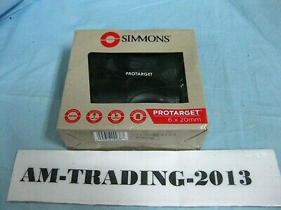 New in Box! Simmons Protarget Handheld Laser Rangefinder 6x20mm (SPL620BW)
