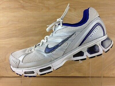 a4b546e0a7 Nike Air Max Tailwind 2009 Womens White/Silver Lace Up Running Shoe Size 12