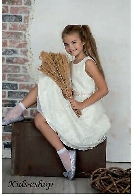 Girls White Socks Communion Wedding Bridesmaid School 2 pack