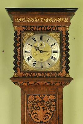 EXCEPTIONAL MARQUETRY LONGCASE CLOCK - Christopher Gould, London