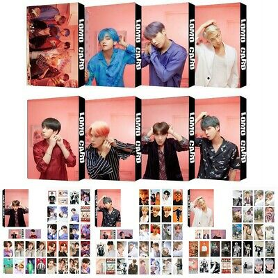 Kpop BTS Map of The Soul Paper Lomo Photo Card New Album Photocard Poster 2019