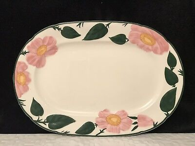 Villeroy And Boch Wildrose 1748 Serving Plate Platter Oval 1St Quality