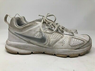 check out b1c29 810ac Nike T-Lite XI White Leather Womens Athletic shoes sz 8 ZZ359