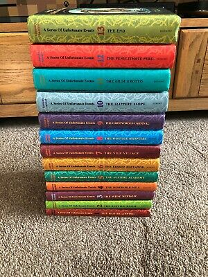 Complete Full Set 1- 13 Lemony Snicket Books HB A Series Of Unfortunate Events