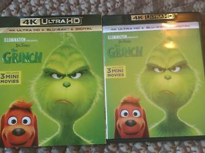 Dr Seuss' The Grinch (2018) 4k Ultra HD Blu ray and Blu ray - No Digital