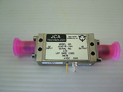 1 - 18GHz (20GHz) RF Amplifier Gain: 33dB PO: 14dBm JCA218-344 /N New Auction #5
