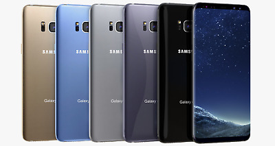 New Samsung S8 - 64GB Sprint - Virgin Mobile - Boost Mobile - Ting - Smartphone