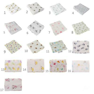 100% Muslin Cotton Newborn Infant Swaddle Baby Soft Blanket Parisarc Wrap Towel