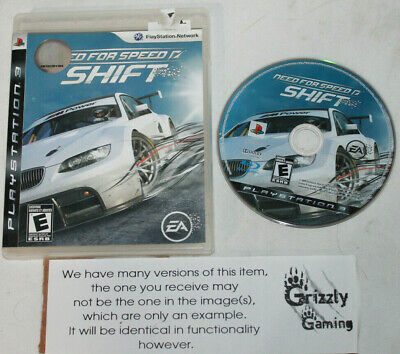 USED Need For Speed Shift Sony Playstation 3 PS3