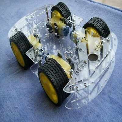 Smart Robot Car Kit Intelligent Speed Car Chassis For the Raspberry Pi