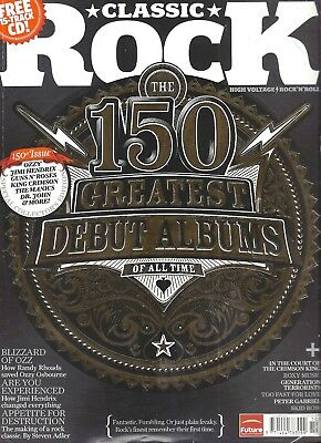 Classic Rock Magazine - Issue 150 - October 2010 - 150 Greatest Debut Albums