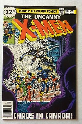 Uncanny X-Men 120 Bronze Age 1979 Marvel Comics VFN++/NM First Alpha Flight
