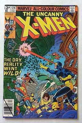 Uncanny X-Men 128 Bronze Age 1979 Marvel Comics NM-/NM Proteus