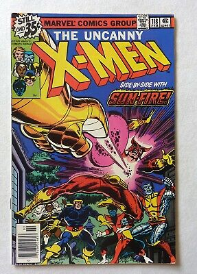 Uncanny X-Men 118 Bronze Age 1979 Marvel Comics VFN++/NM Sunfire