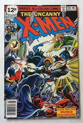 Uncanny X-Men 119 Bronze Age 1979 Marvel Comics VFN++/NM Moses Magnum