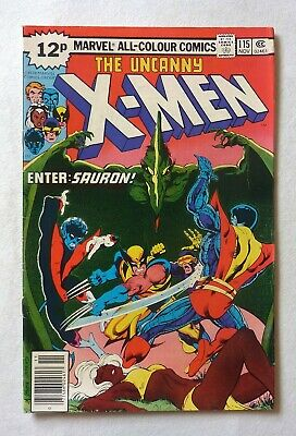 Uncanny X-Men 115 Bronze Age 1978 Marvel Comics VFN+/NM- Sauron