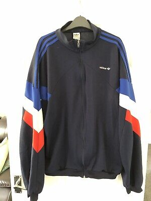 RARE VINTAGE ADIDAS Tracksuit Track Top Jacket Xxl 80S 90S