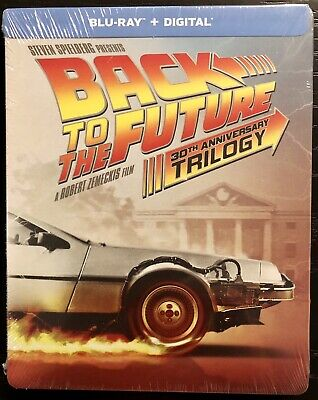 Back To The Future Trilogy (BluRay/Digital) 30th Anniversary Edition Steelbook