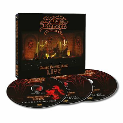 KING DIAMOND - Songs For The Dead LIVE DIGI 2DVD + CD NEU!