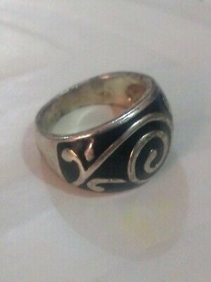 Extremely Antique Old Vintage Rare Ethnic  Silver Handmade Quality Ring