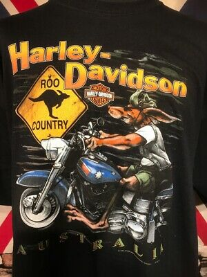 Official Harley Davidson - Australia  - Tee - (Xl) - See Measurements