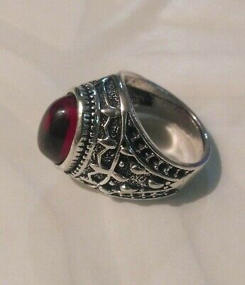 Extremely Antique Old Vintage Rare Ethnic Silver Royal Handcraft Quality Ring