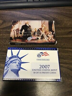 2007 United States Mint Proof Coins 14/14