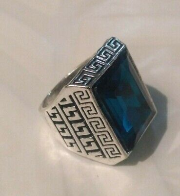 Extremely Antique Old Vintage Rare UNIQUE Ethnic Silver Handcraft Quality Ring