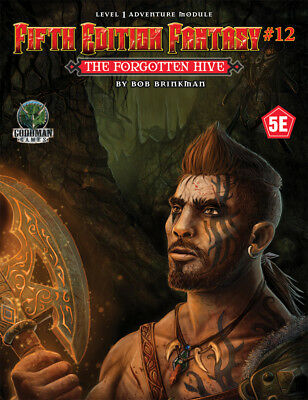 D&D 5th Edition Fantasy 12 - Dungeons & Dragons RPG - The Forgotten Hive