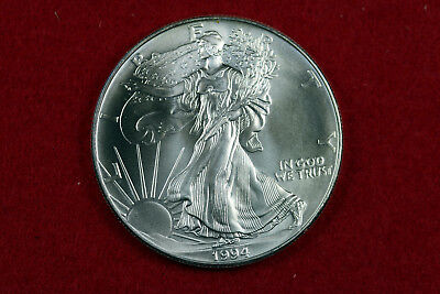 ESTATE FIND 1994  American Silver Eagle   #D13642