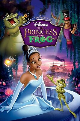 The Princess and the Frog - Disney (DVD, 2010) *** DISK ONLY ***