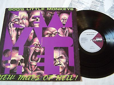 God's Little Monkeys - New Maps Of Hell With Inner ~ 12 Track Album ~ Excellent~