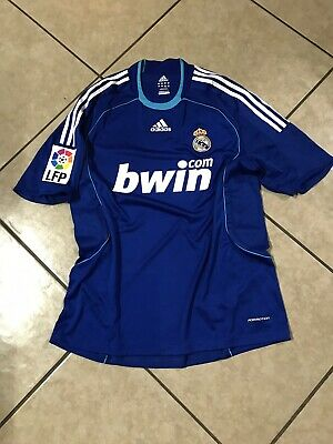 882d86bf6 Real Madrid Raul Era Spain Player Issue Formotion Shirt Football Adidas  Jersey