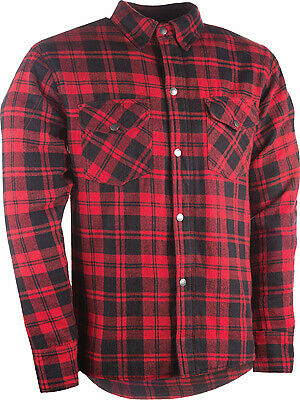 HIGHWAY 21 Marksman Riding Flannel 3XL Black/Red