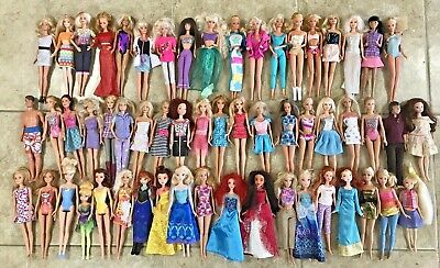 Barbie doll lot of 57: 80's 90's to Now + Disney Princess + more